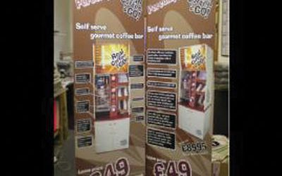 Pop Up Banner Displays