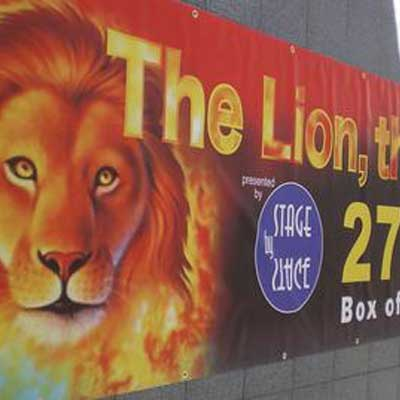 Theatre Advertising Banners