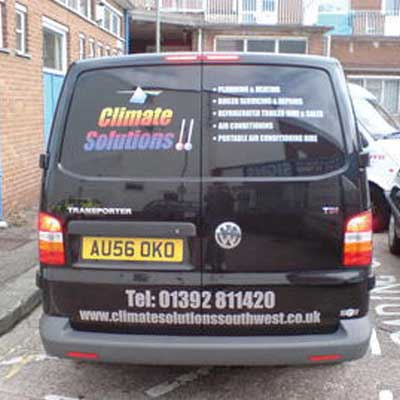 Van Signwriting Exeter