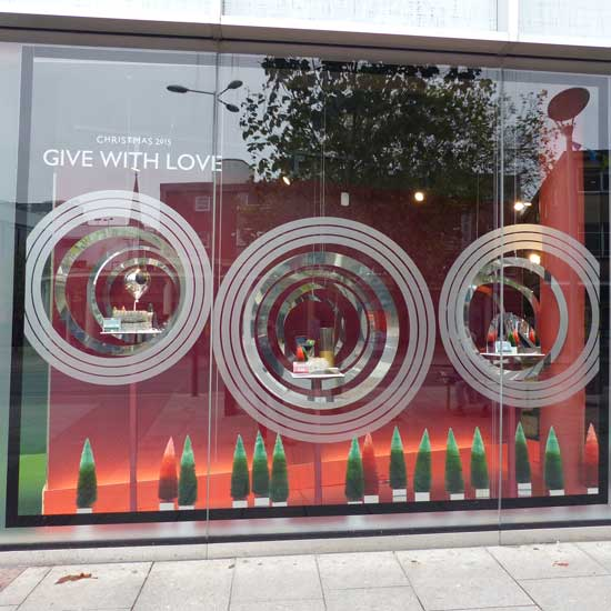 Shopfront Windows of Exeter Store